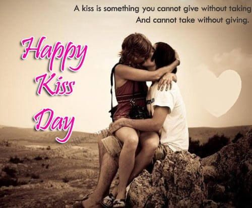 60 Beautiful Kiss Day Quotes Sayings And Images Happy Kiss Day