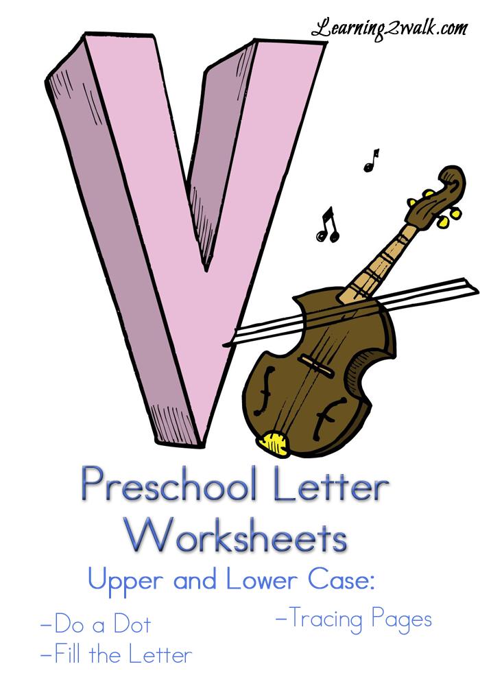 preschool letter v worksheets kids learning letters numbers shapes color letter. Black Bedroom Furniture Sets. Home Design Ideas