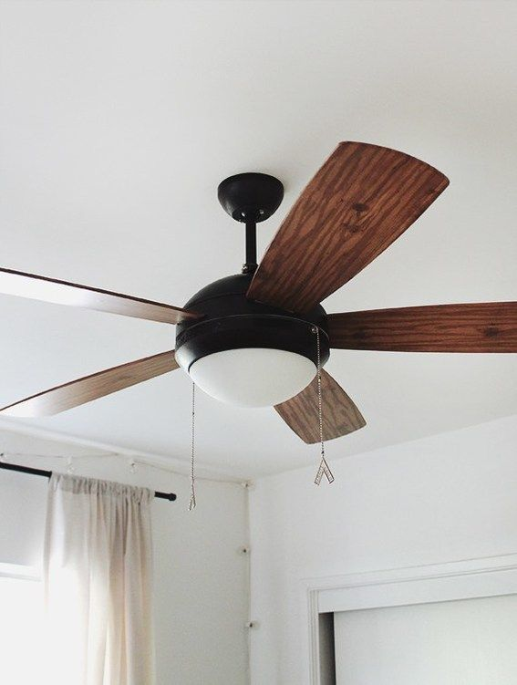 Do You Have An Old Or Plain Ceiling Fan In Your Rental Here Are Ten Updates That Can Help The Ceiling Fan In Ceiling Fan Simple Ceiling Fan Ceiling Fan Update