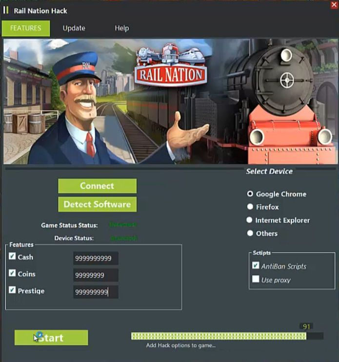 Rail Nation Hack Tool (Facebook App) Rail Nation Hack Tool (Facebook