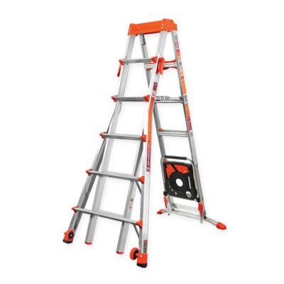 Little Giant 6 10 Select Step Type Ia Aluminum Ladder With Airdeck Aluminium Ladder Ladder Little Giants
