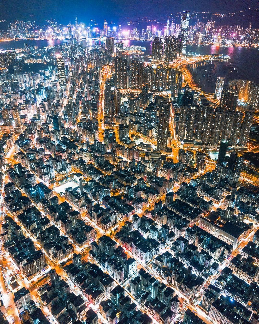 Hong Kong From Above Drone Photography By Timothy Ma Dengan Gambar