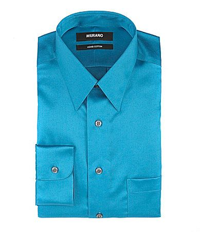 Murano PointCollar Liquid Cotton Dress Shirt #Dillards