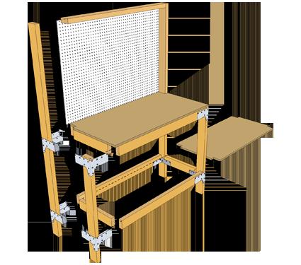 Simpson Strong Tie DIY Workbench