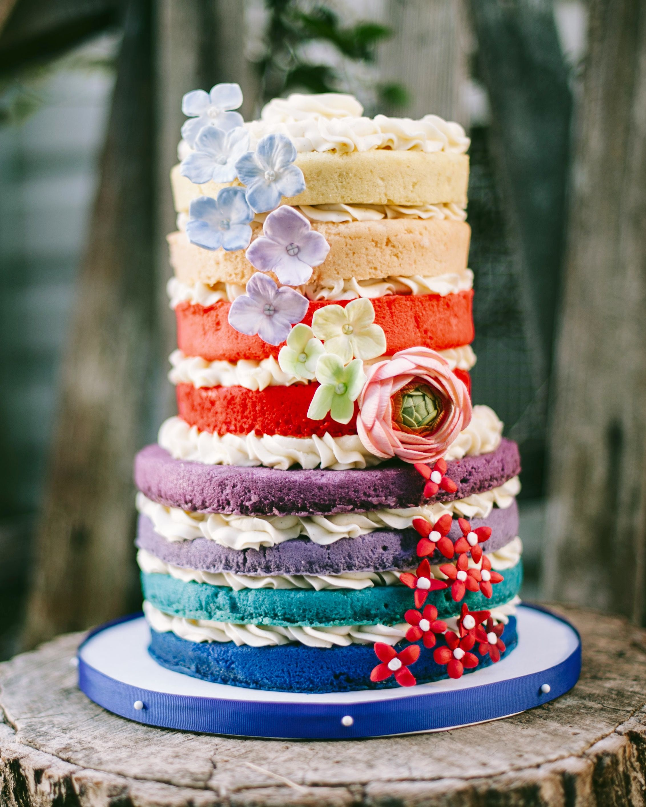 Naked ombré cake ❤ I ❤️CAKES Pinterest