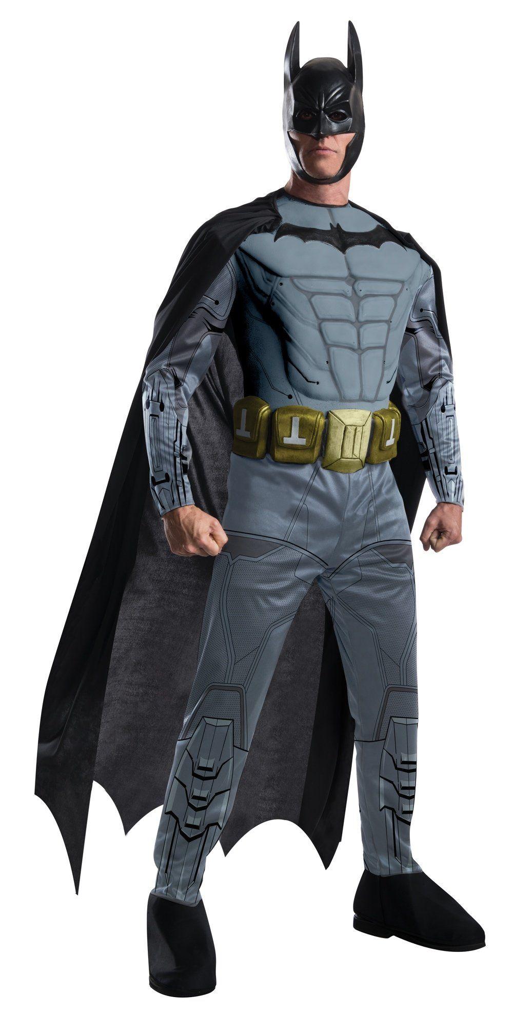 Batman DC Comics New Arkham Franchise Adult  Superhero Halloween Costume