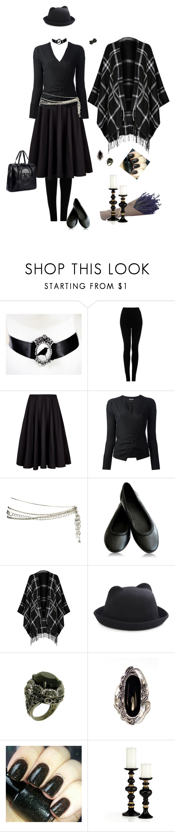 """Untitled #159"" by kat-knowles ❤ liked on Polyvore featuring Topshop, Ted Baker, Tom Ford, Forever 21, M&S, Natalie B, Magic Woman and Emerson"