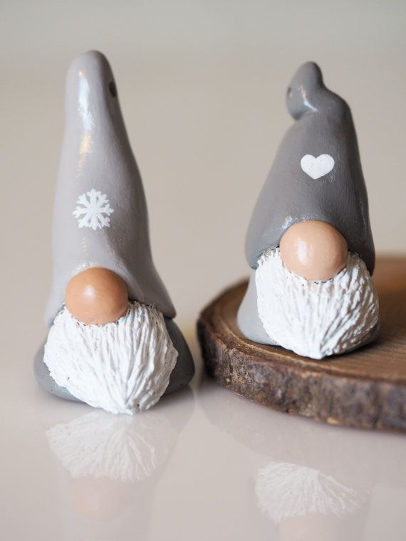 Christmas ornament - Scandinavian gnome decoration... - #Christmas #decoration #dry #gnome #ornament #Scandinavian #christmasgnomes