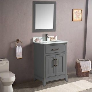 Vanity Art 30 Inch Bathroom Vanity Set With Phoenix Stone Top