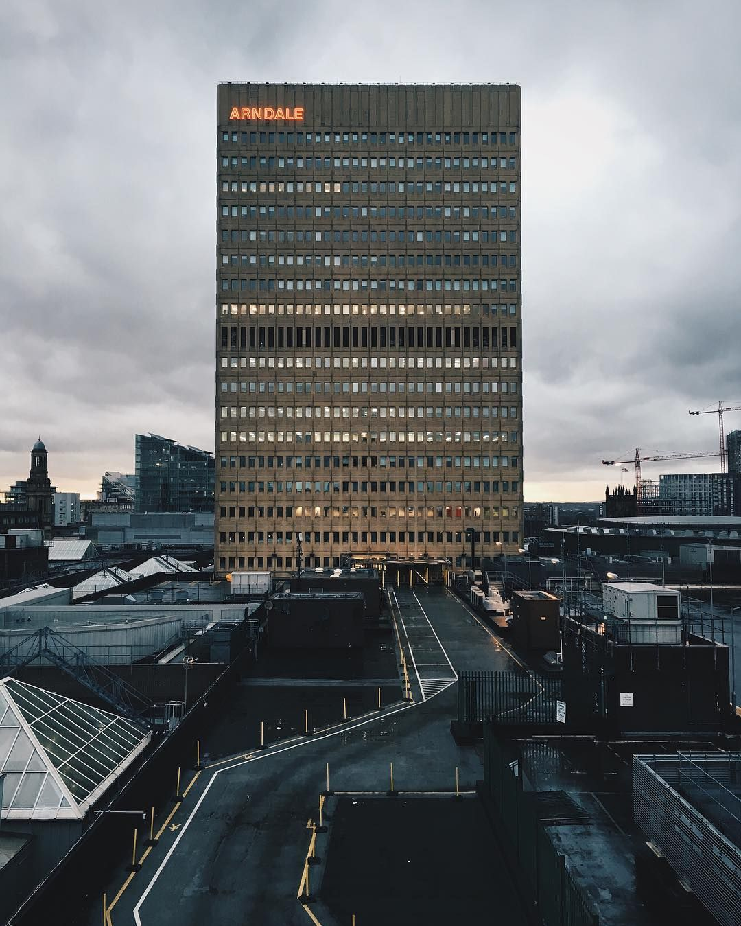 The famous and infamous Arndale House.
