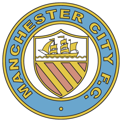 Manchester City Old Logo Manchester City Manchester City Logo Manchester City Football Club