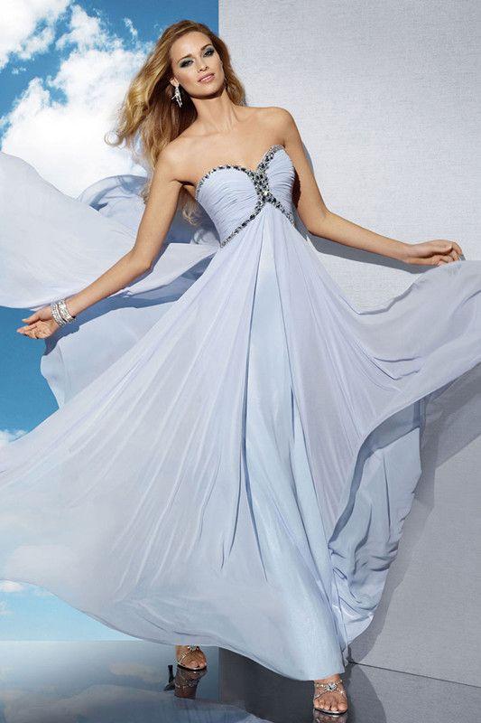 prom dress | Ballkleid, Chiffon, Kleider