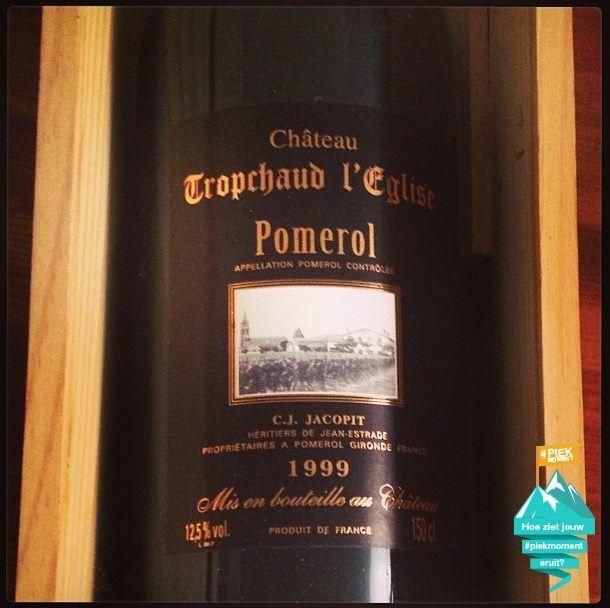 Een heel heel heel lekker wijntje tijdens wintersport '13. Komend weekend mogen we weer!