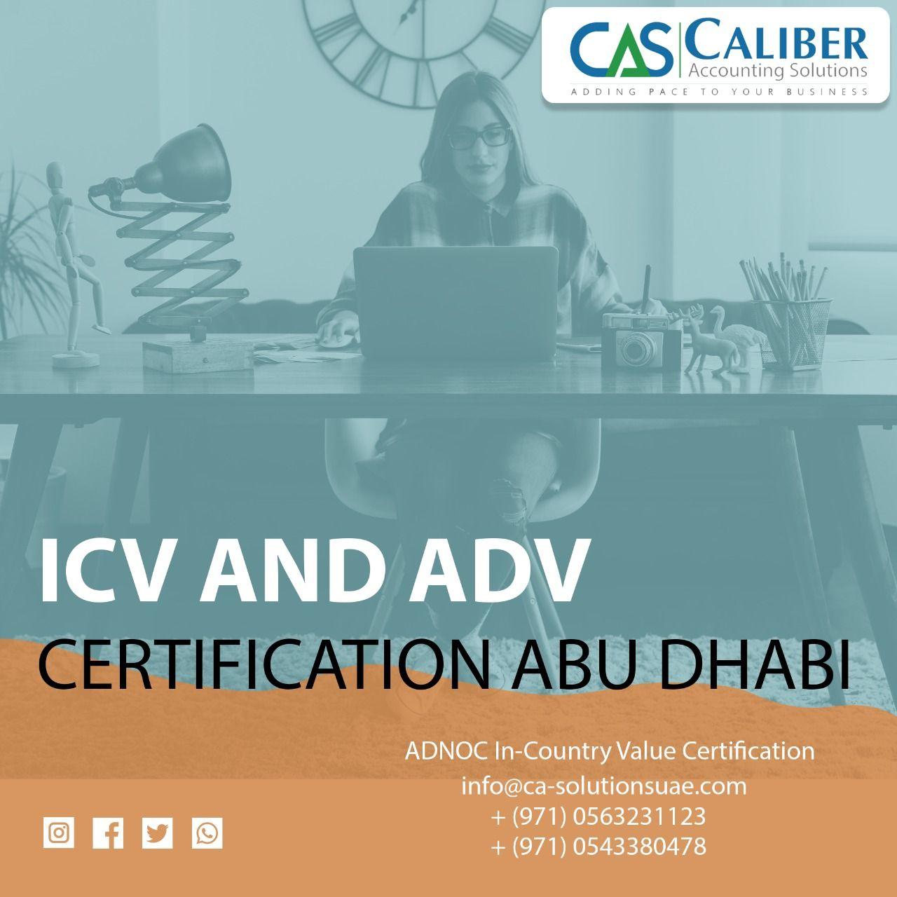 ADNOC ICV Certification Company in Abu Dhabi UAE in 2020