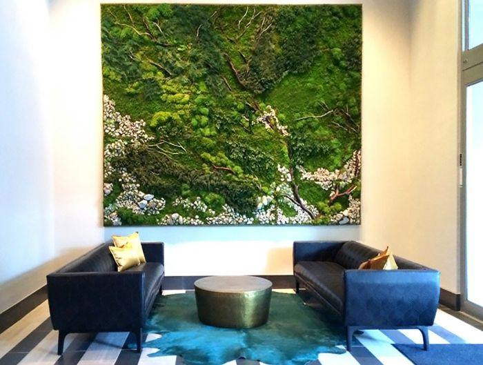 1001 ideen zum thema moosbilder selber machen diy. Black Bedroom Furniture Sets. Home Design Ideas