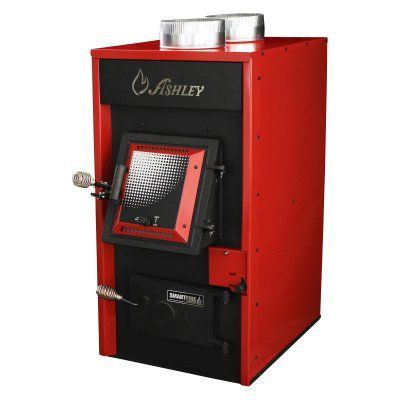 Ashley Hotblast 120000 Btu Wood Burning Warm Air Furnace 1330e Wood Burning Furnace Wood Burning Locker Storage
