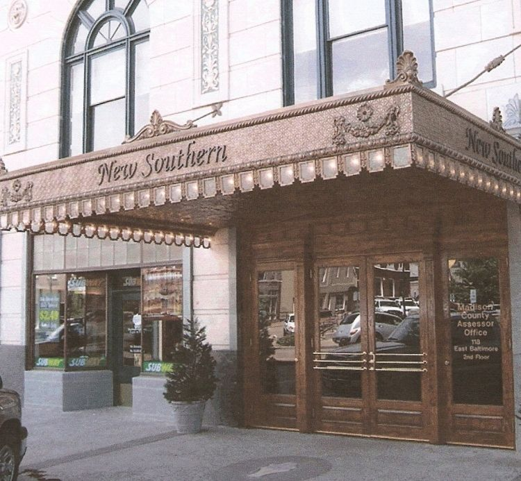 New Southern Hotel Gold Rooms Building Historical Place