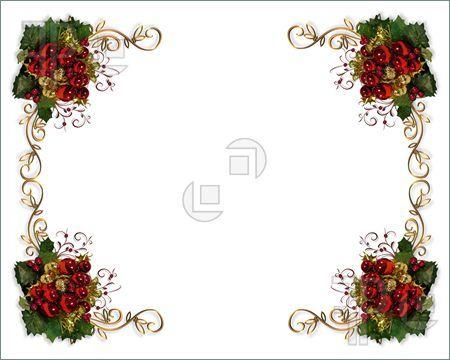 christmas card borders4 Free Downloadable Christmas Page Borders - downloadable page borders for microsoft word