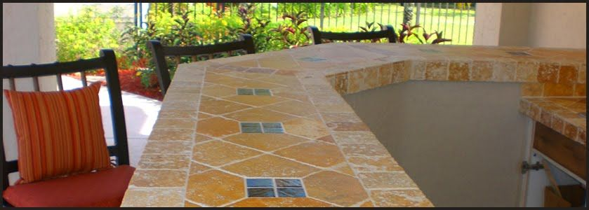 mexican tile kitchen countertops | another example, this time