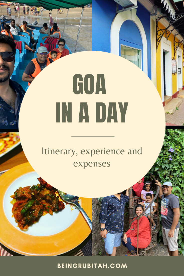 How can you possibly explore Goa in a day?   Well we did and here are a few different things you can do too, when you have a whole day to spend in Goa.