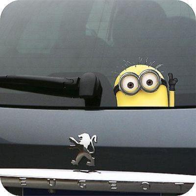 Minion car sticker ebay minion car sticker ebay