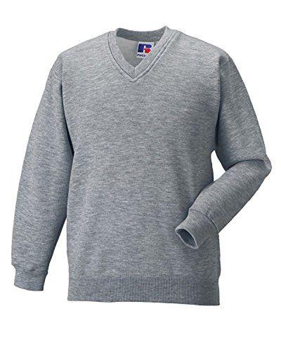 Unisex Girls Boys School Uniform School Wear Russell Jerzees Schoolgear V Neck Sweatshirt Jumper Jerzees http://www.amazon.co.uk/dp/B01APZ4PFU/ref=cm_sw_r_pi_dp_9aVMwb0XM3WAE