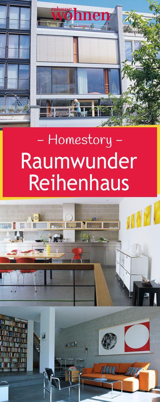 Wir Warfen Einen Blick In Die Modern Gestalteten Reihenhäuser In Karlsruhe.  In Unserer Homestory Zeigen Wir, Wie Sich Häuser Nach Maß Individuell  Einrichten ...