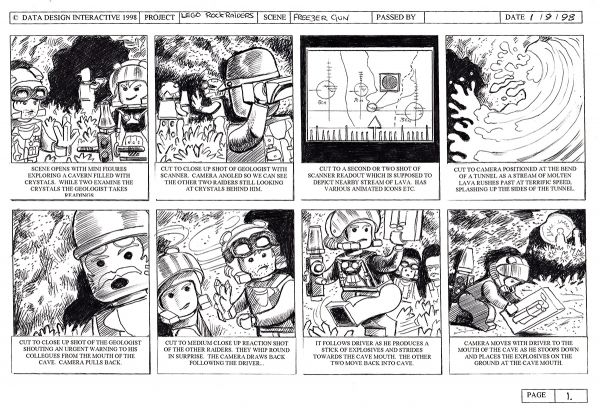 AstonS Auctioneers Original Lego Storyboard Artwork Featured