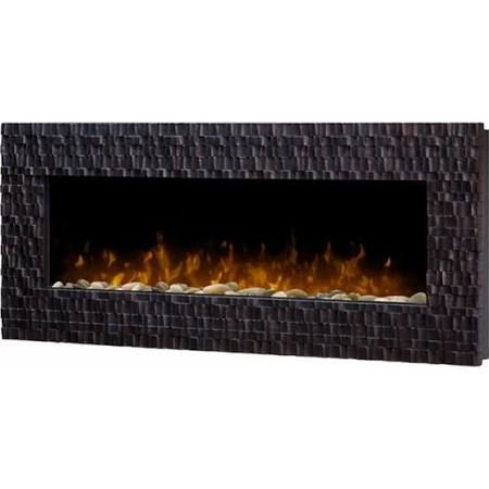 Wall Mount Electric Fireplace River
