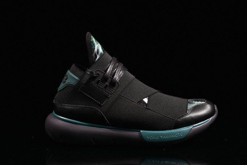 0f72c1825d4a UK Trainers 2018 Adidas Y3 Qasa High Yohji Yamamoto Charcoal Black Noir  Youth Big Boys Sneakers