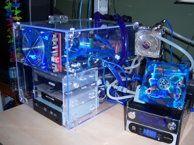 thread custome water cooled gaming computer joy of science and technology pinterest. Black Bedroom Furniture Sets. Home Design Ideas