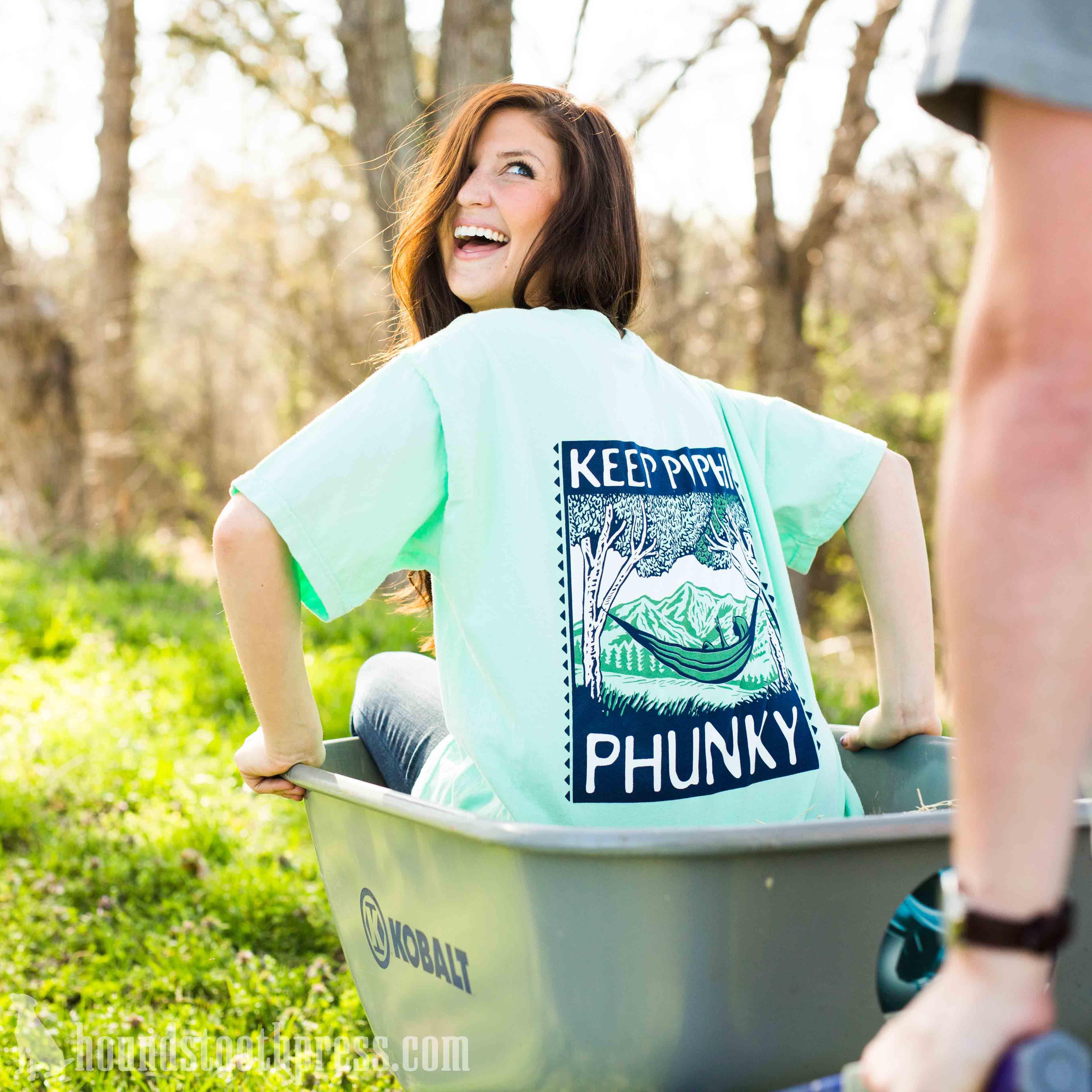 Pi Phi Keep Pi Phi Phunky T-Shirt Island Reef   #LoveTheLab
