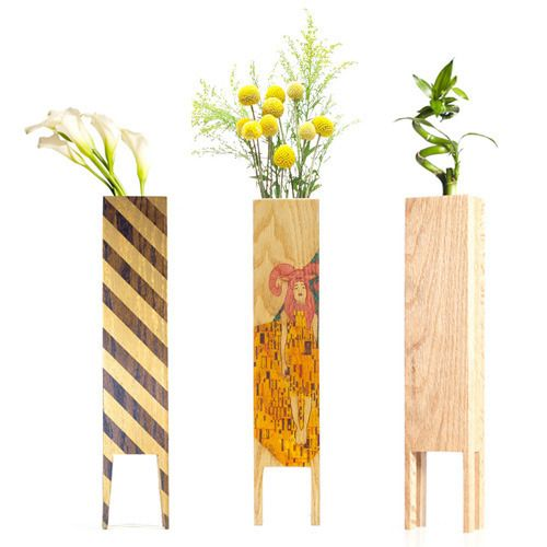 Limited Edition Wooden Vessels by LEBORED