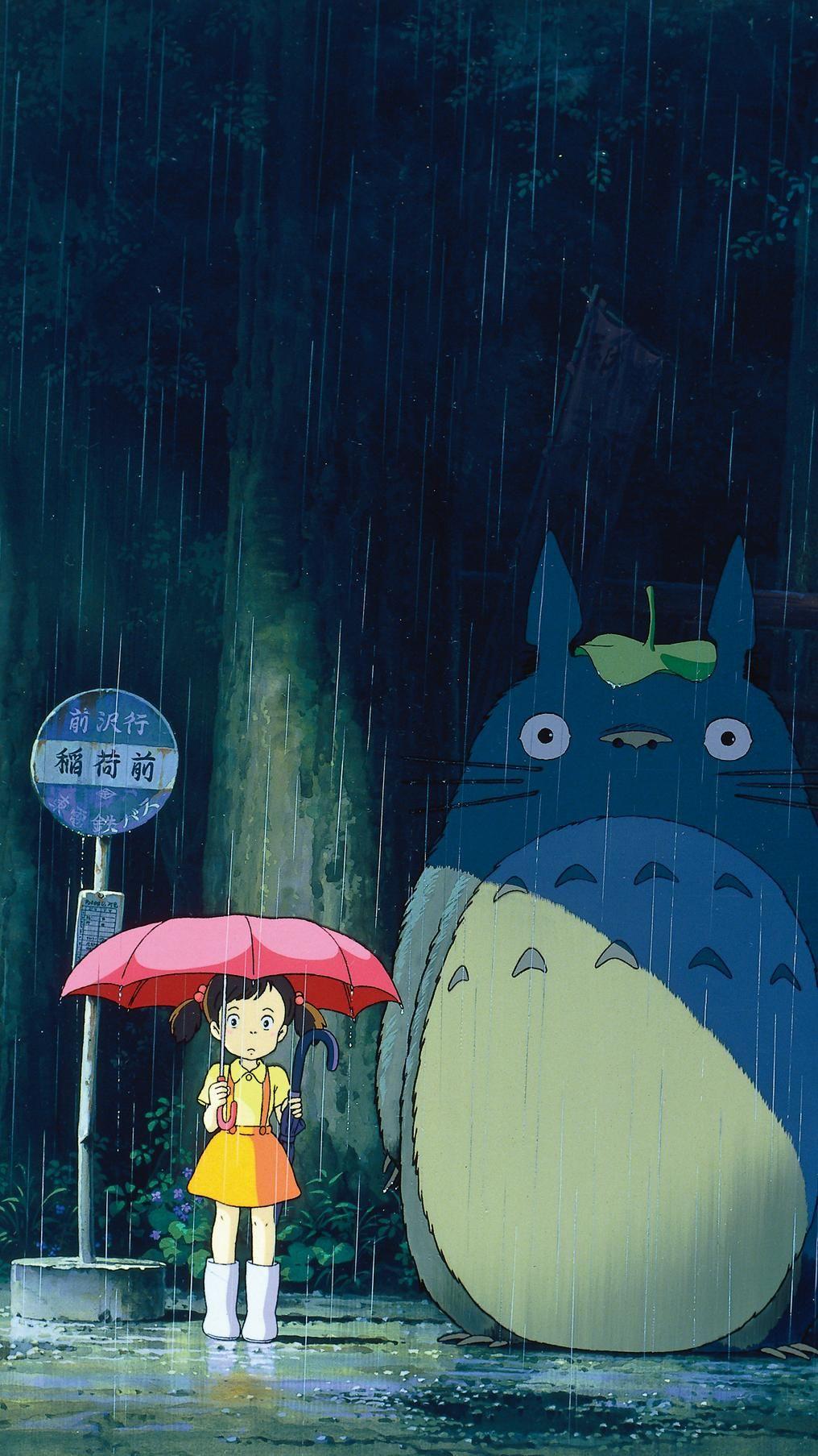 My Neighbor Totoro (1988) Phone Wallpaper | Moviem