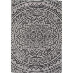 Photo of benuta Plus indoor & outdoor rug Cleo beige / brown 160×230 cm – for balcony, terrace & garden