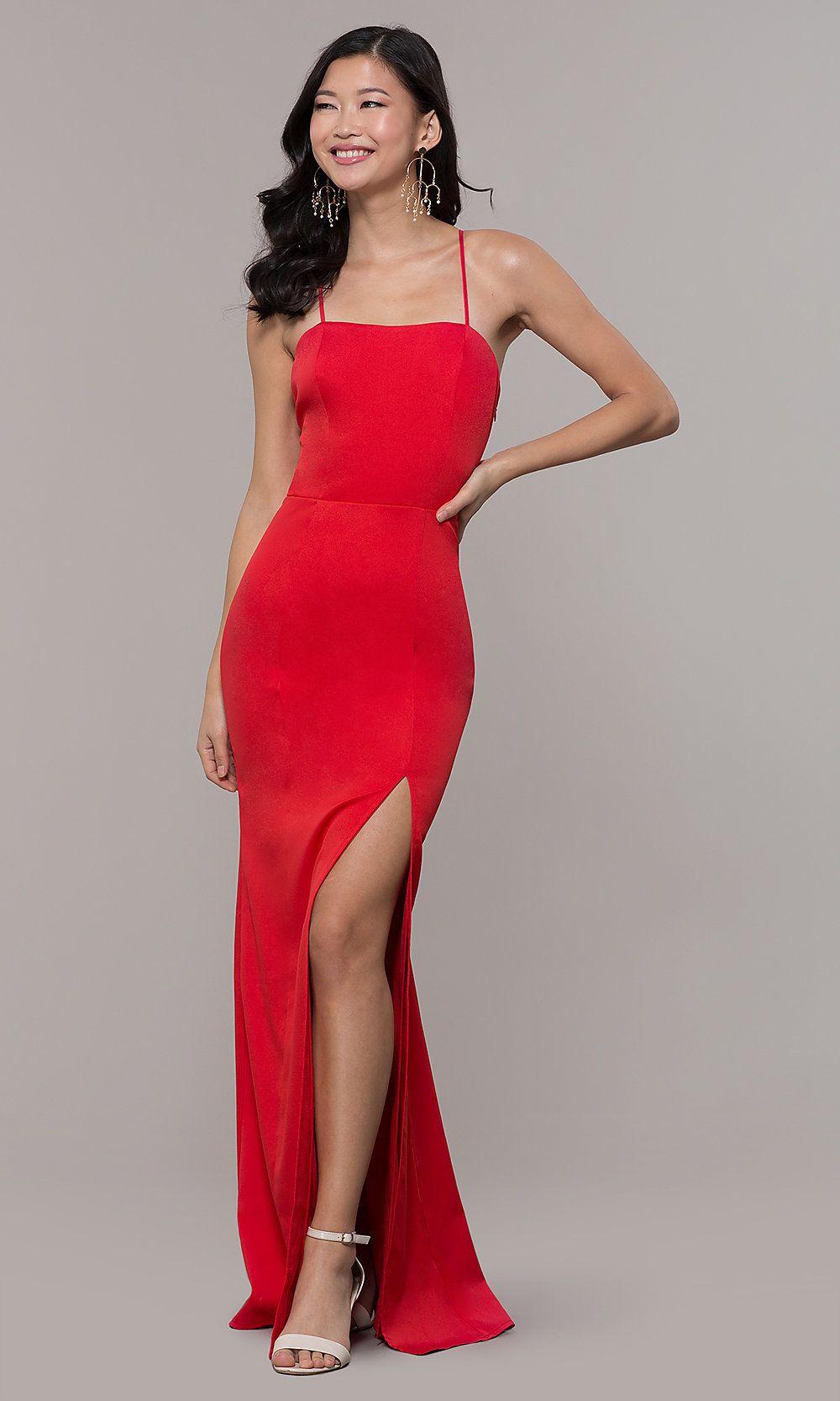Corset-Back Long Strapless Cheap Prom Dress - PromGirl