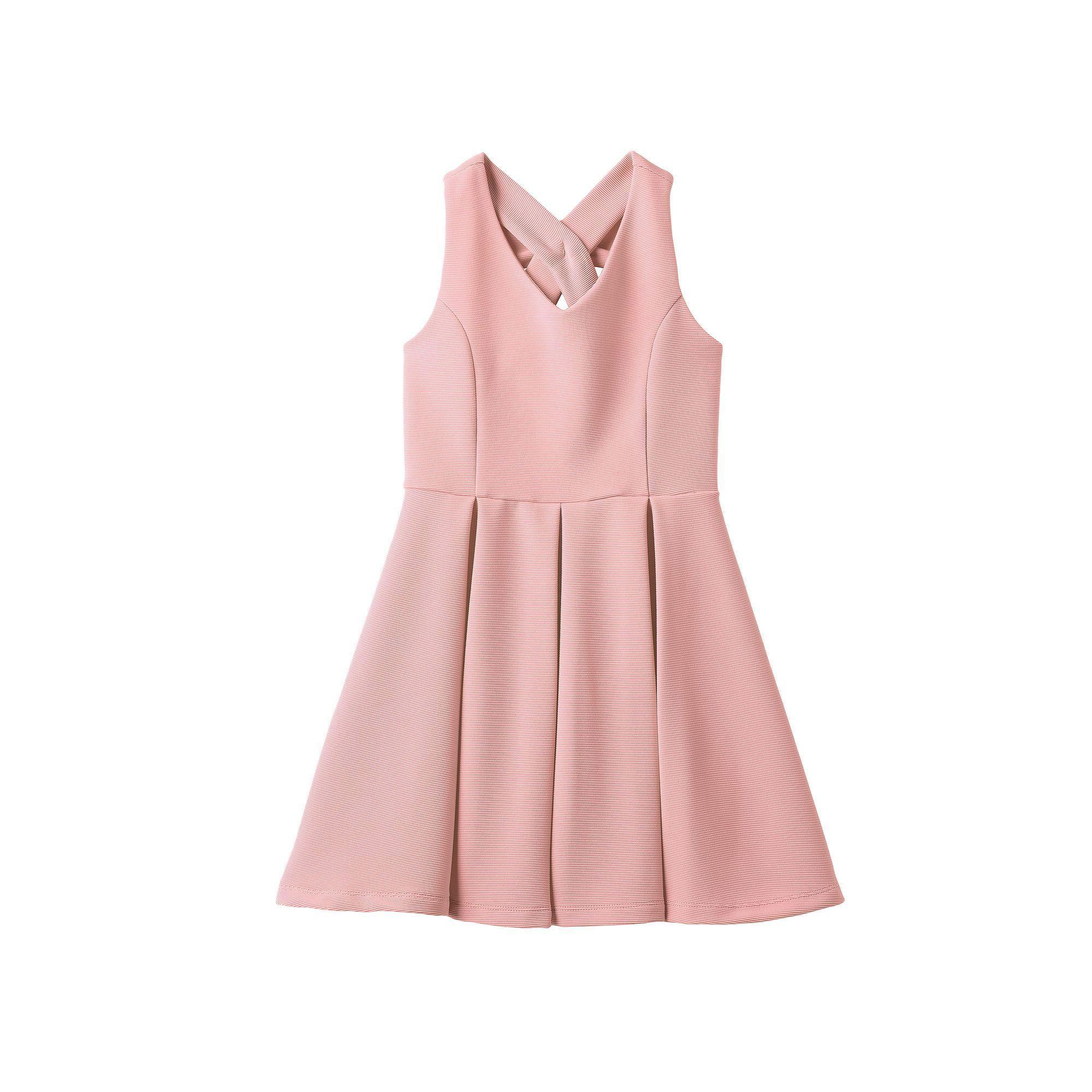 Girls 7 16 Plus Size Lilt Striped Skater Dress Size 20 12 Med