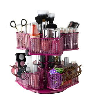 Nifty Home Products Rose Makeup Carousel by Nifty Home Products #zulily #zulilyfinds