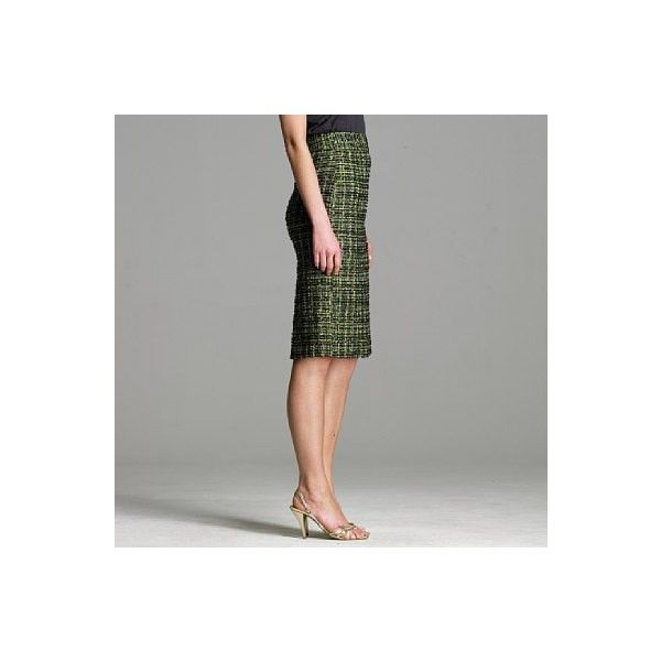 c63c3452e J Crew Sparkle plaid tweed pencil skirt | my style | Sparkle skirt ...