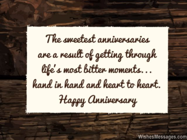 Marriage Anniversary Quotes For Couple: Anniversary Card Message Sweet Relationship Memories