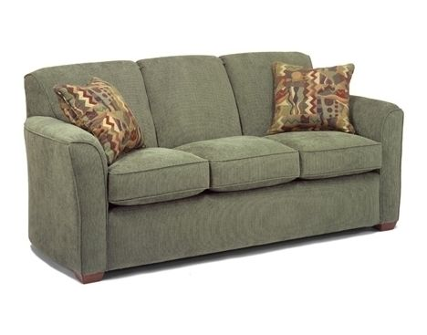 Charming Lakewood Fabric Sofa By Flexsteel Furniture Deets