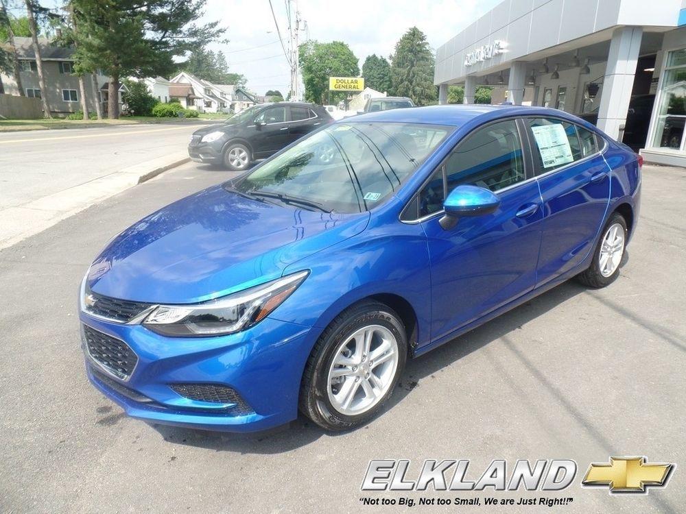Chevrolet Cruze Lt Auto 2018 Lt Auto New Turbo 1 4l I4 16v