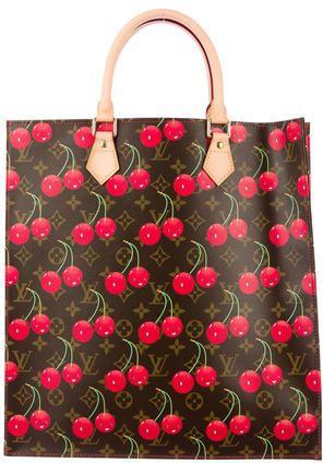Remember these!!!! Louis Vuitton Monogram Cerises Sac Plat  b9dc9c131b001