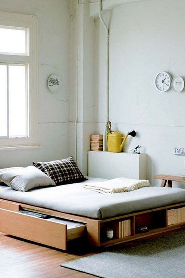 36 Lovely Space Saving Furniture Ideas Small Apartment Bedrooms Small Apartment Interior Small Bedroom