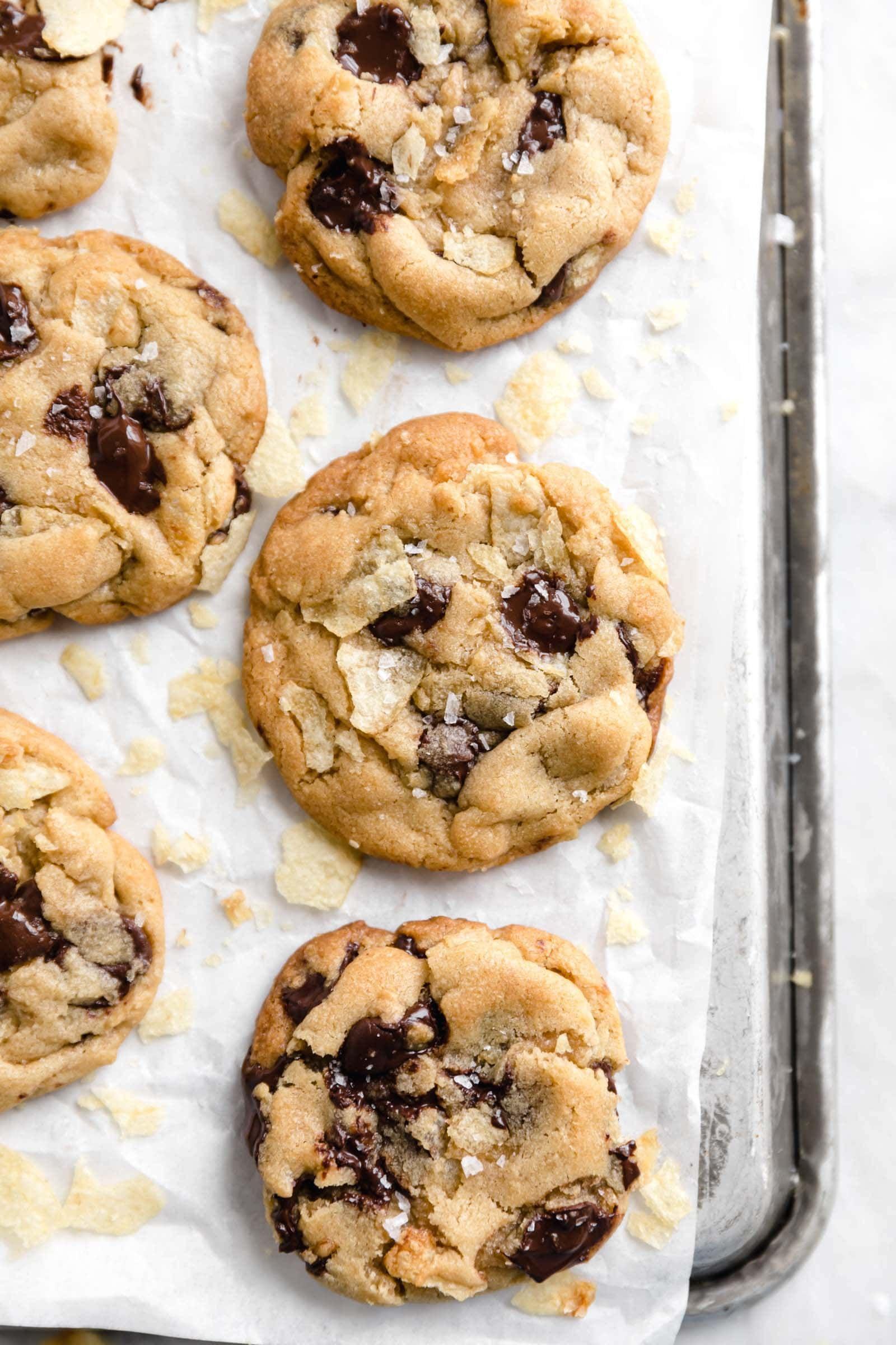 Potato Chip Chocolate Chip Cookies - Broma Bakery