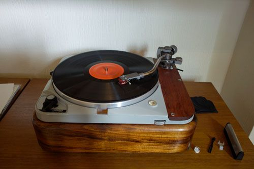 Turntable Modified by Ramunas of the UK