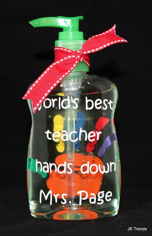 Personalized Teacher Appreciation Sanitizer World S Best Teacher