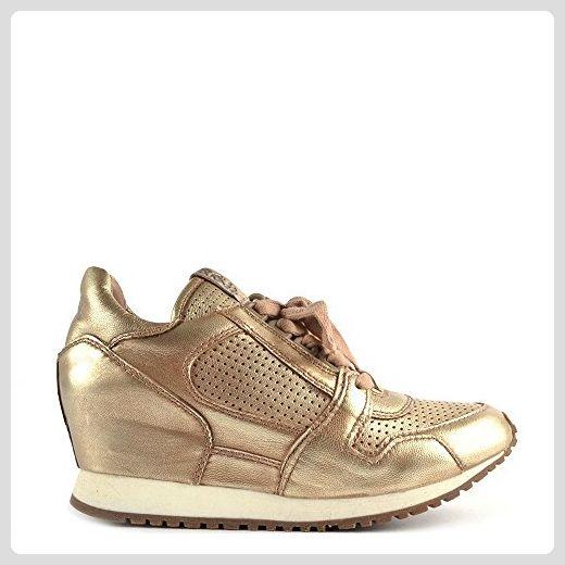ASH Dean Keil Sneaker aus Leder, Damen 37 EU Schwarz: Amazon