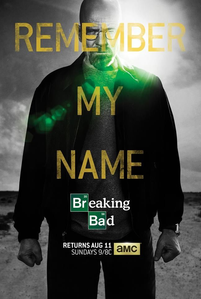 Breaking Bad. TREAD LIGHTLY.