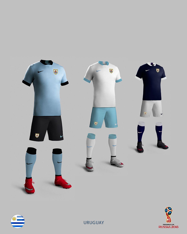 2018 Russia World Cup Uruguay Football Shirt  Football  FIFA  Uruguay 704601f50